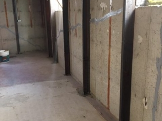 Steel wall bracing
